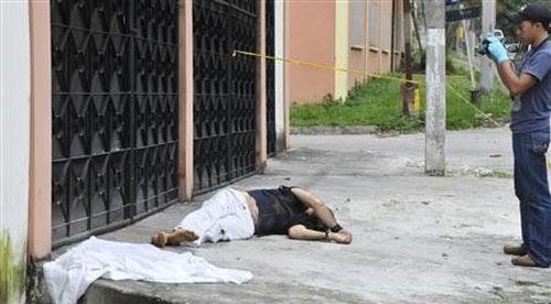 Убийство туриста в Гондурасе