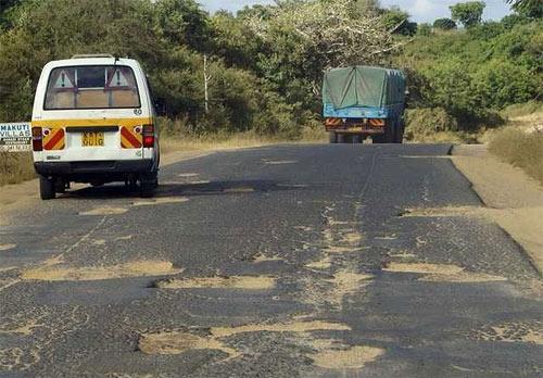 дороги в Кении