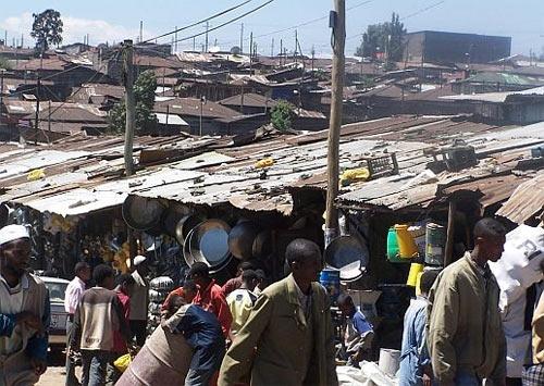 Трущобы Аддис-Абебы
