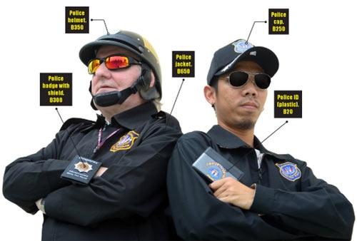 сколько стоит полицейская форма?