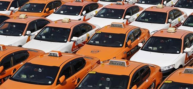 Жуликоватые корейские таксисты