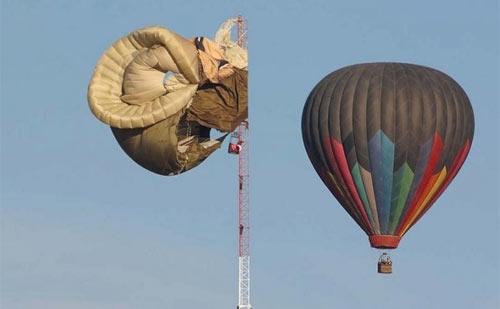 Авария воздушного шара