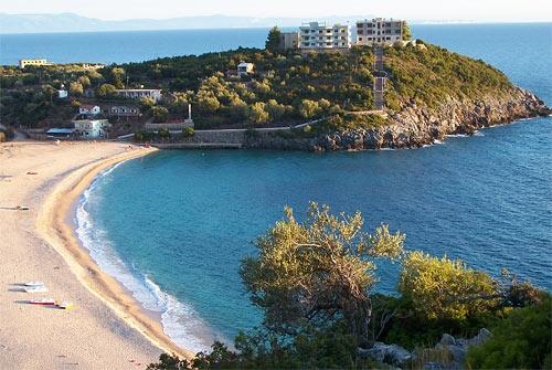 Албанский пляж