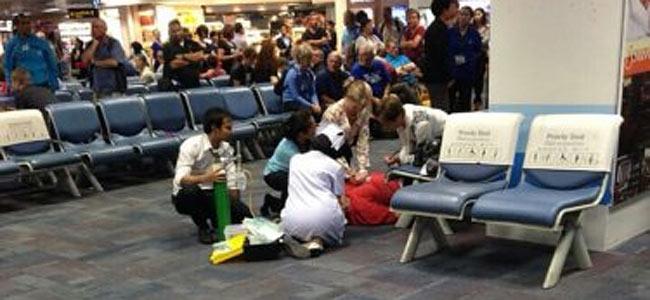 В таиландском аэропорту в зале ожидания неожиданно умер пожилой австриец