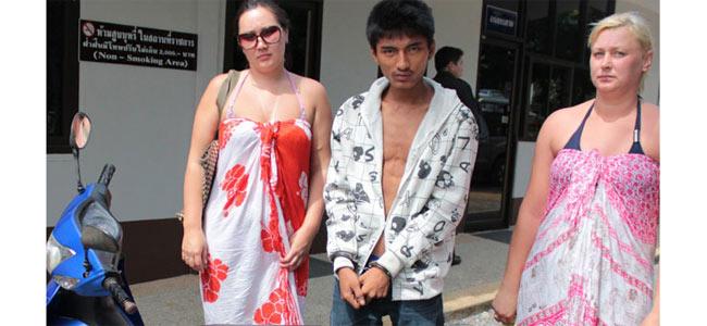 Тайский юноша ограбил русскую туристку лишь потому, что он — метамфетаминовый наркоман