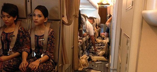 В самолете «Сингапур – Лондон» пассажиры оказались травмированы… едой