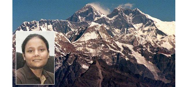 На Эверест взобралась женщина без ноги