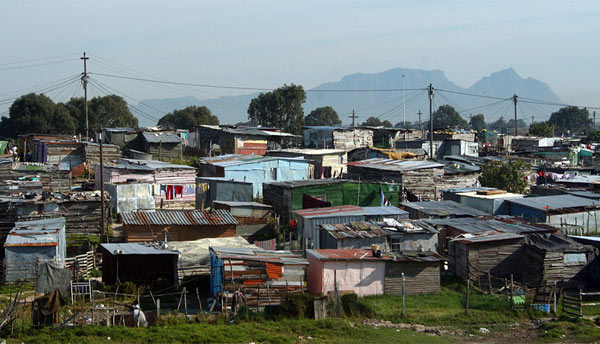 Трущобы Кейптауна