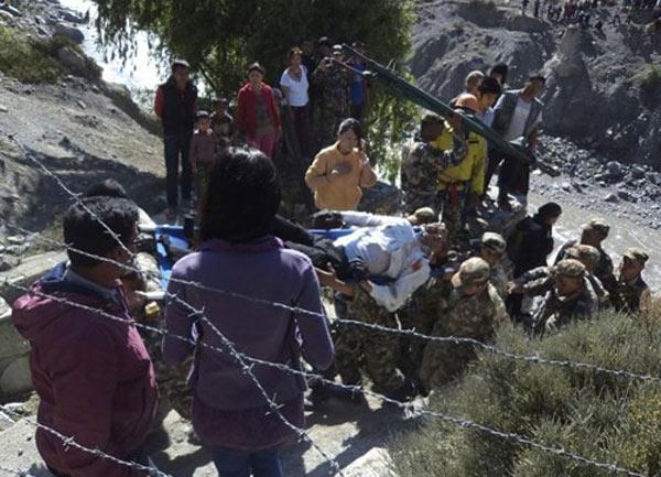 Самолет разбился в Непале