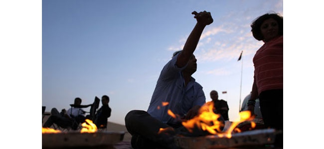 В Шардже запретили жарить на пляже шашлыки