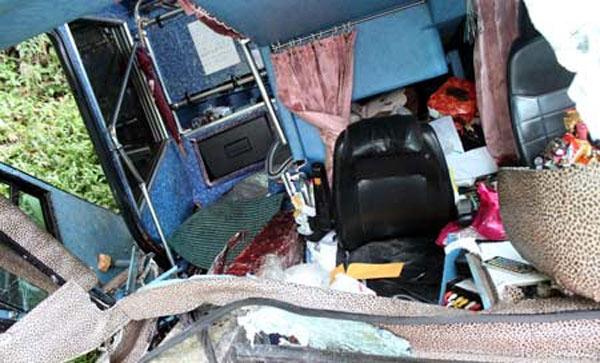 Авария туристического автобуса на Тайване