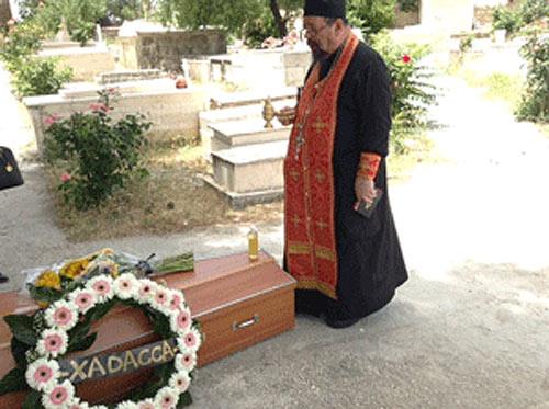 Удивительные похороны в Иерусалиме