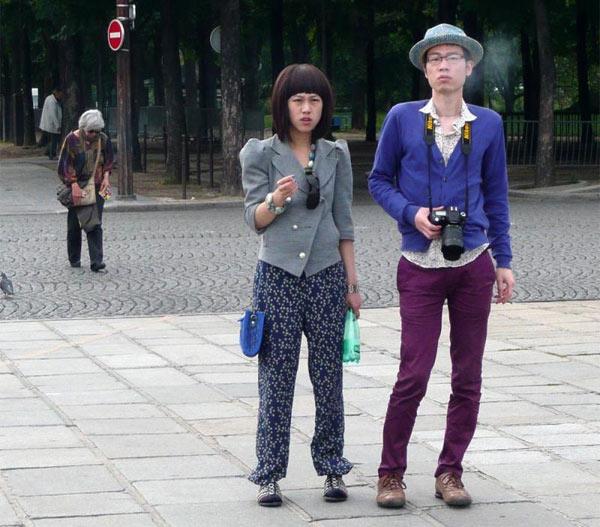 Японские туристы много тратят
