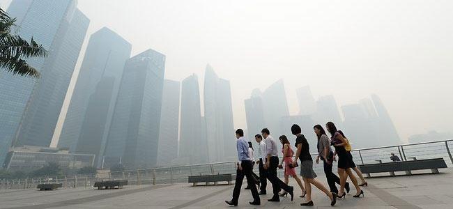 Из-за удивительного смога в Сингапуре закрыты туристические аттракционы