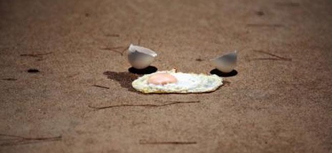 Жарить яйца в Долине Смерти — нежелательно