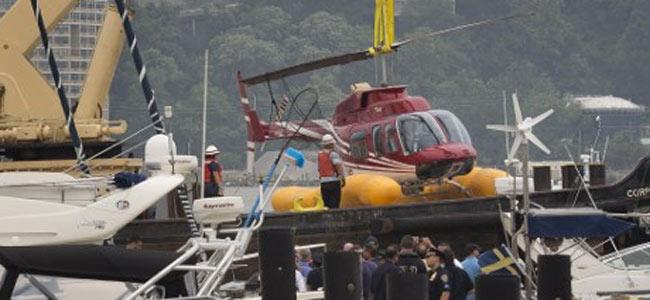 Шведской семье надолго запомнится полёт над Нью-Йорком на неисправном вертолёте
