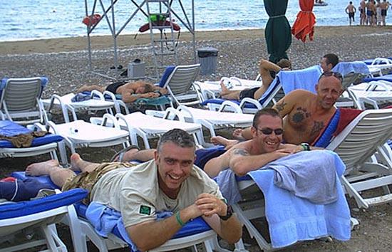 Английские военные на Кипре