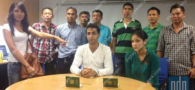 Культурные люди из Пакистана показали фокус кассирше обменника в Паттайе