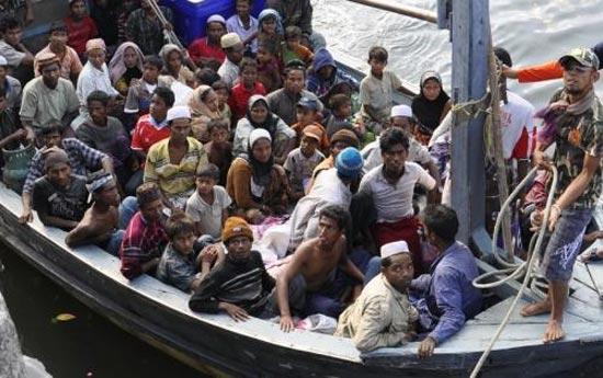 Беженцы из Мьянмы в Таиланде