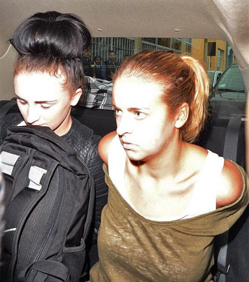 Арестовали девушек с кокаином