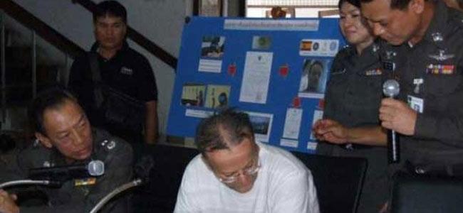 Итальянский педофил, 5 лет прятавшийся в Испании, вернулся в Таиланд, чтобы сесть в тюрьму
