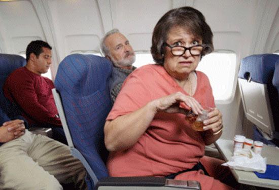 Заразить весь самолет