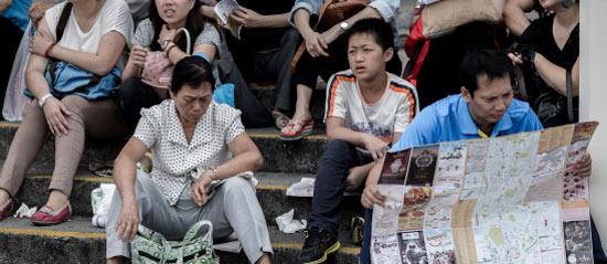 Китайских туристов пытаются воспитать