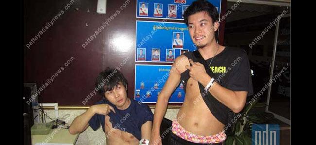 Тайский транссексуал-психопат чуть не убил двух туристов за отказ спать с ним
