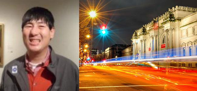 Слепой турист из Кореи потерялся в Метрополитен-музее