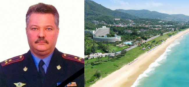 Полковник полиции из Красноярска утонул в Таиланде