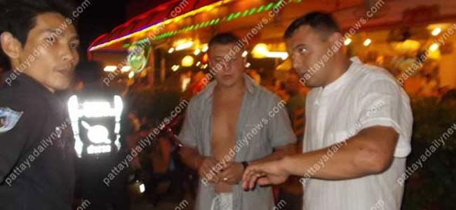 Банда торговцев часами избила русского туриста в Паттайе