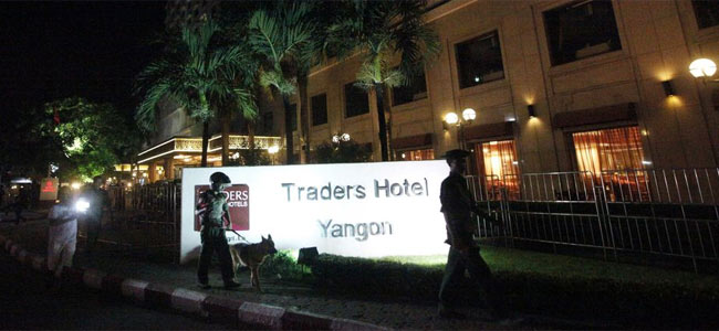 В роскошном отеле Янгона взорвалась бомба. Пострадала туристка из Америки
