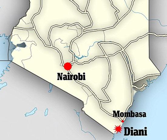 Аресты террористов в Кении