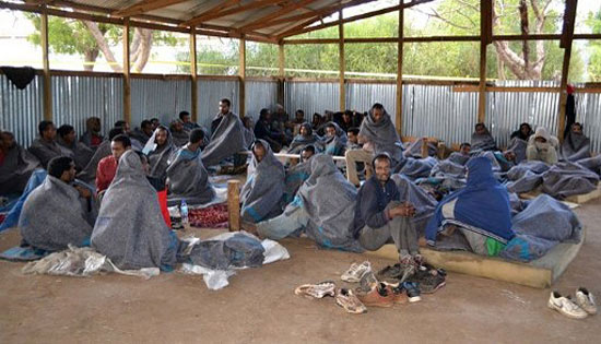 Эфиопские нелегалы