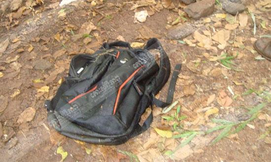 Рюкзак убиенного
