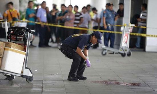 Стрельба в аэропорту Манилы