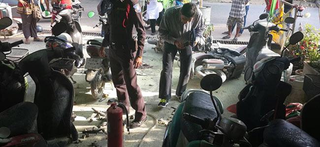 Пожар на тайском пункте проката мопедов устроил раненный в голову австралиец