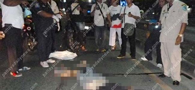 Русский турист разбился на мотоцикле в Паттайе