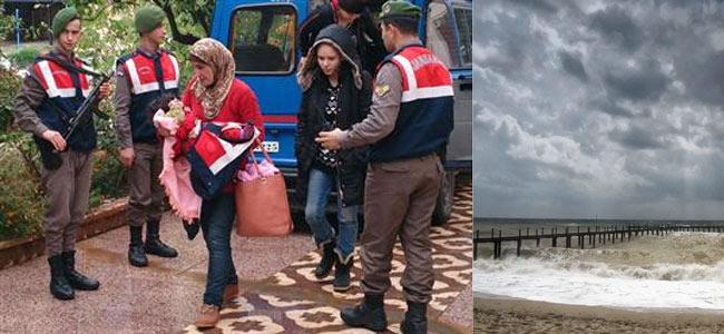 На пляжах Антальи в межсезонье тайно собираются мигранты из Сирии. Там — портал в Европу