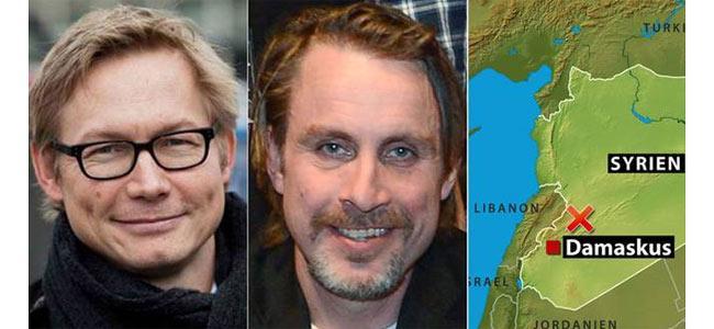 Похищенные в Сирии шведские журналисты освобождены