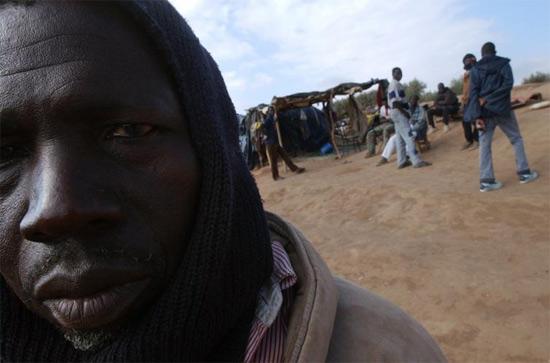 Мигранты в Марокко