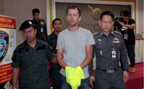 Русский наркодилер по спайсам в Таиланде