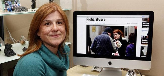 Туристка из Франции накормила в Нью-Йорке объедками бомжа, который оказался Ричардом Гиром