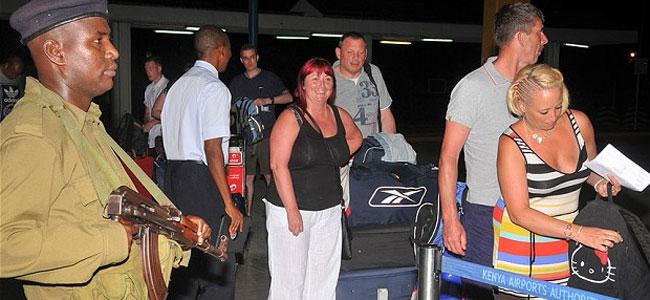 Сотни британских туристов эвакуируются из Кении