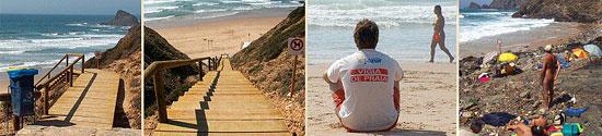 Нудистский пляж в Португалии