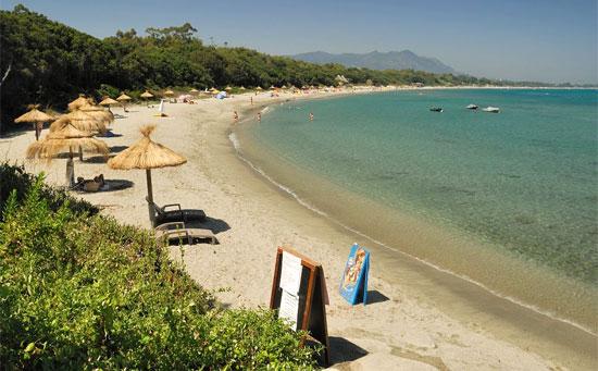 Голый пляж на Корсике