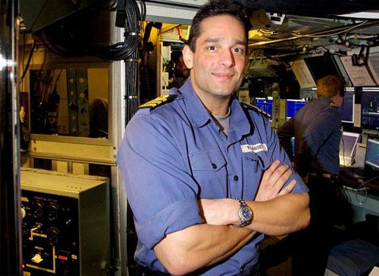 Командир подводной лодки Райан Рэмзи