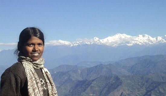 Малават Пурна - школьница на Эвересте