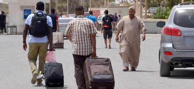 Ежедневно из Ливии в Тунис убегает шесть тысяч человек