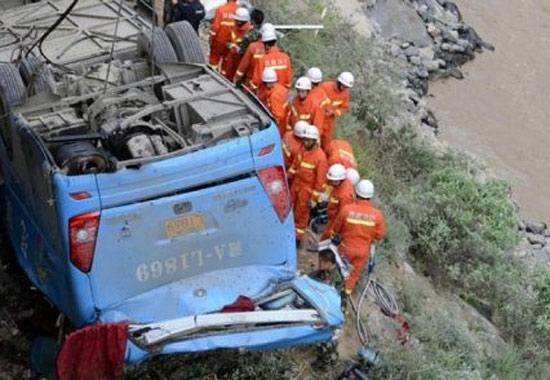 44 туриста погибло в Тибете